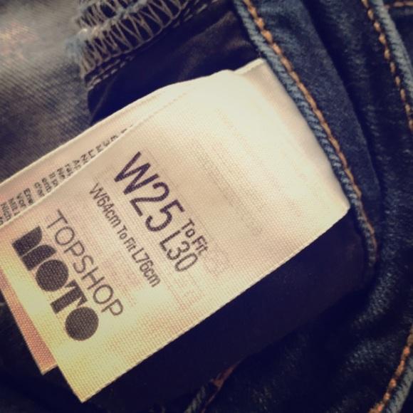 Topshop Denim - TOPSHOP Skinny cropped jeans
